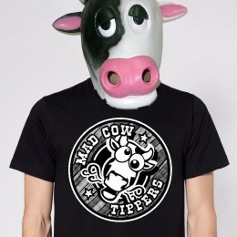 Mad Cow Tipper T Shirts Are In!! Just $10.00 !  OR Spruce up that wreck of a ride. Full color Bumper Stickers Just $3.00 !